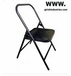 Yoga Chair (Backless) Meditation Chair For Yoga (Black)