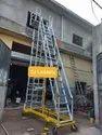 Platform Extension Trolley Ladder