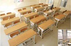Stainless Steel School Desk