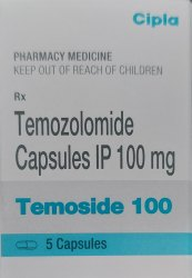 Temoside Temozolomide 100mg Capsule
