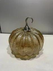 Glass Lustre Pumpkin