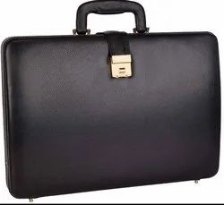 15.6 Leather Laptop Briefcase