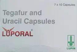 Luporal 100 Mg Tegafur & Uracil Capsules