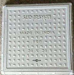 24 x 24 inch FRP Square Manhole Cover