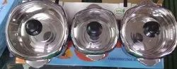 Stainless Steel Insulated Hot-Pot with Glass Lid