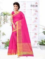 Fancy Cotton Net Saree