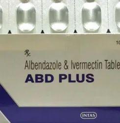ABD plus  Albendazole 400mg Ivermectin 6mg Tablet