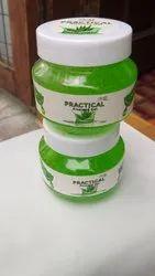 PRACTICAL Green Aloe Vera Skin Care Gel, For Normal Regular Use, Type Of Packaging: Bottle