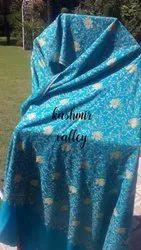 Kashmiri Kalamkari Pure Pashmina Shawl