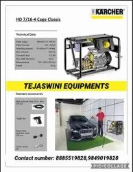 Hd7.16 4 Cage High pressure washer