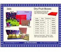 4 Section Rectangular Dry Fruit Packaging Box