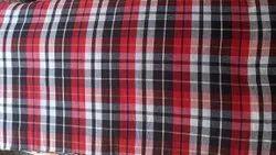 Check multy Poly Cotton Mattress Fabric, 14 kg, 350