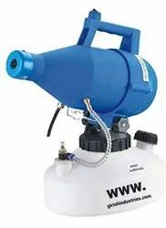ULV Fogger Machine Sprayer Hotels Disinfection Office 10V/220V 4.5L 1400W (Blue)