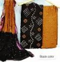 Cotton Bandhni Dress Material