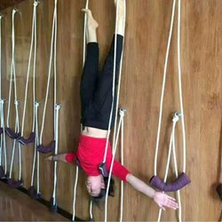 Yoga Anti-Gravity Wall Rope Full Set Auxiliary Training Sport Aerial Suspension Yoga Rope Cotton