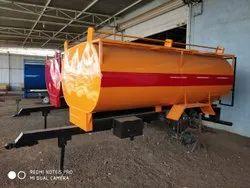Mild steel Tractor Water Tanker