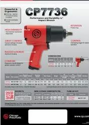 1/2 Heavy Duty Air Impact Wrench Twin Hammer