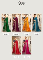 Ladies Fancy Vichitra Silk Saree