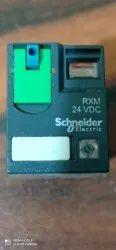 Schneider Zelio Plug In Rxm Miniature Relays With Led 24V DC