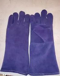 Male Leather Canadian Hand Gloves, 11-15 Inches, Finger Type: Full Fingered