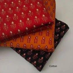 Ladies Cotton Printed Fabric