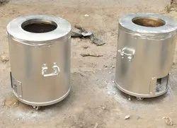 Mild steel round home tandoor