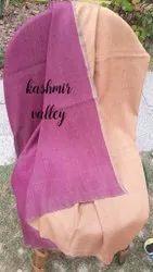 Reversible pure pashmina shawl