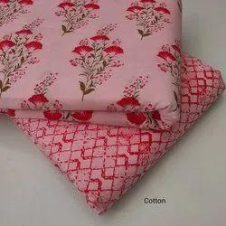 Printed Cotton Slub Fabric