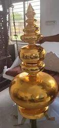 Brass Kalash For Temple