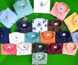 Cotton Long Sleeves Hittlar Dnm Club Laffer Print Shirts