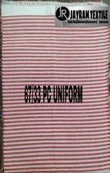 Red Lining Mp Uniform Fabric