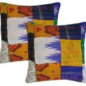 Vintage silk parola Cusion Covers