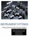 SS INSTRUMENTATION TUBE FITTINGS
