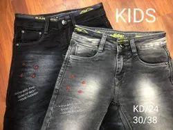 Denim Party Wear Kids. jeans, Dry clean