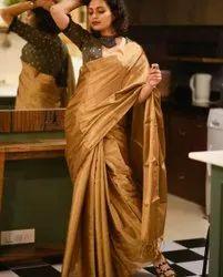 Tissue Silk Handweived Sarees