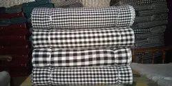 Cotton Boxer Check Fabric, Check/stripes, Multicolour