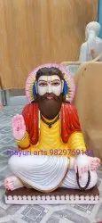 Sant Ravidas Marble Statue