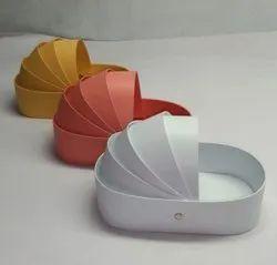 14 Colors in Option oval Pram Hamper Basket, 300, Leatheette