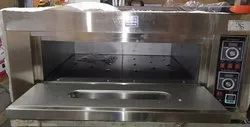 Electric Single Deck 2 Tray Oven