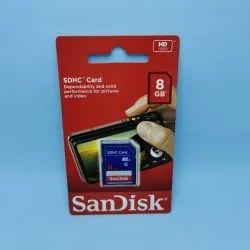 SanDisk 8GB Class 4 SDHC Memory Card (SDSDB-008G-B35)