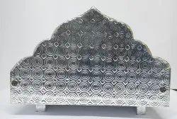 Silver Wooden Singhashan