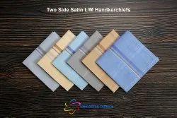 Two Side Satin Light Medium Color Handkerchiefs
