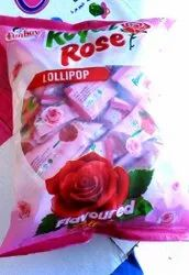 Funboy Red Royal Rose lollipop, Packaging Type: Packet, Packaging Size: 24 Pkt.in One Carton