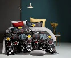 Glace cotton King size Bedsheets in Panipat