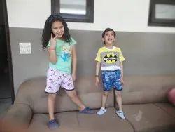 Printed Girl & Boy Kids Shorts