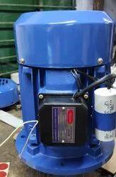3h single phase flange mounted motor