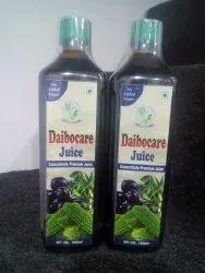 Diabitic care juice, Not Diagnosed