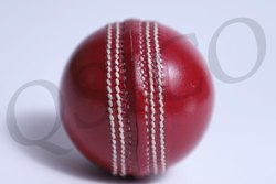 Red Cricket Leather Ball QSICO (CLB-07)