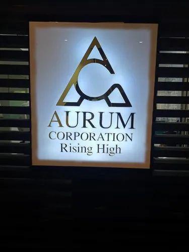 Led Logo Sign Board