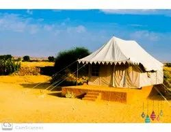 White Polyester Iron structure tent house